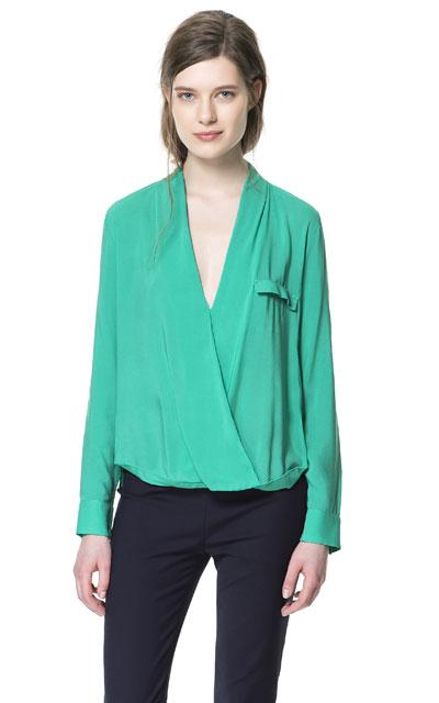 26 апр 2012 Все модные тенденции подробно, наглядно, с фото Свободные блузки и сорочки, небрежно