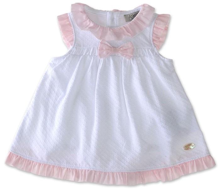 Платье для новорожденных своими руками
