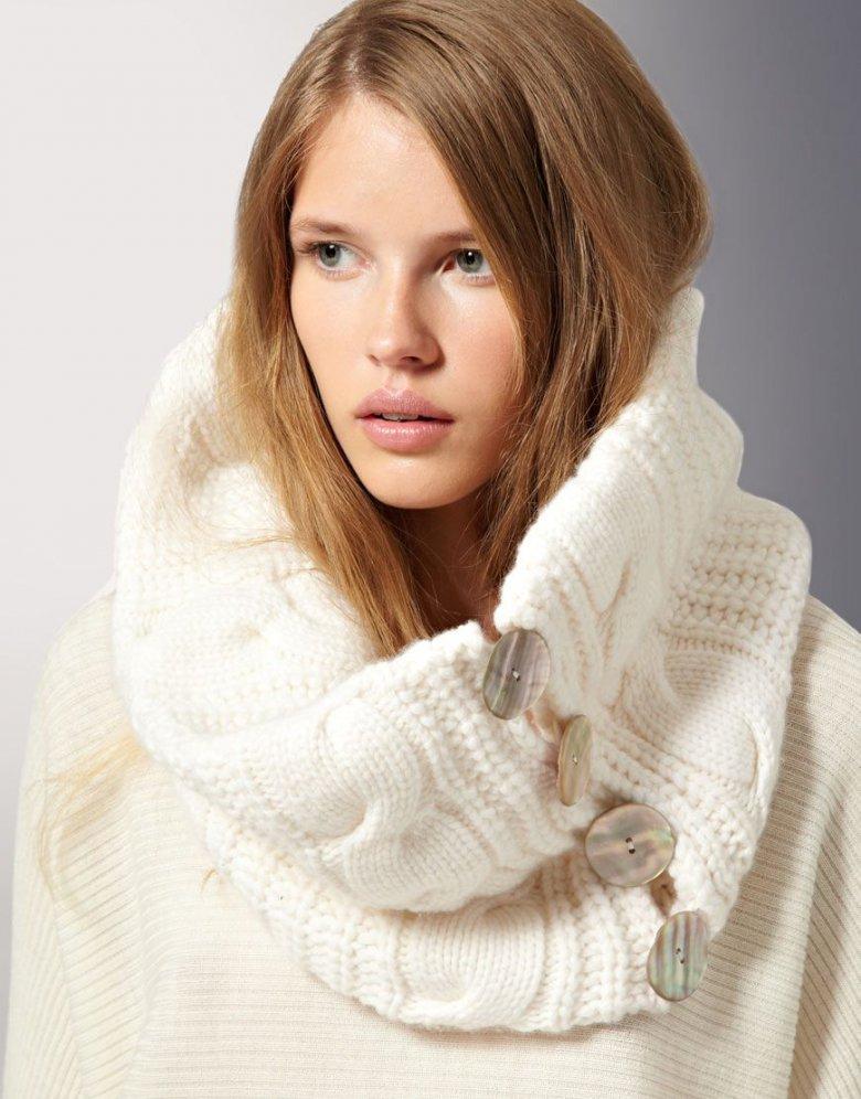 Вязаные спицами модели сезона осень-зима 2014 года 9
