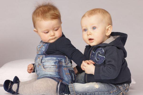 Картинки модных малышей