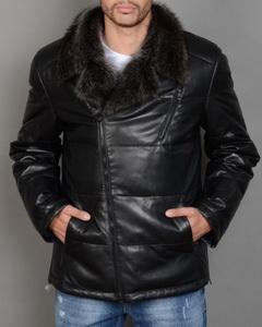 Мужская кожаная куртка с мехом - Модно в России 2014, Женская шапочка своими руками, Гавайские рубашки купить, Как